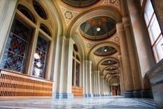 Site de patrimoine mondial de l'UNESCO, résidence de la métropolitaine de Bukovinian image stock
