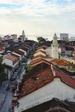 Site de patrimoine mondial de Georgetown, Penang, Malaisie photographie stock