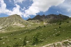 Site de Prals, France Image libre de droits