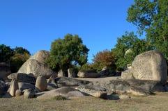 Site de sanctuaire de Beglik Tash, Bulgarie Photo libre de droits