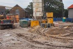 Site de Sandy Cleared Construction, Sydney, Australie photos stock