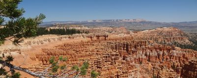Site de sud de Bryce Canyon LES Etats-Unis photos stock