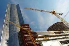 Site de travaux de construction Photo libre de droits