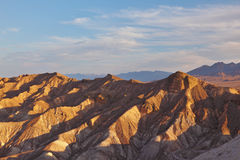 The  site of Death Valley in California Royalty Free Stock Image