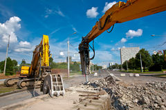 Site Demolition Stock Images