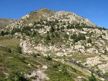 Site des carlit, Frankreich Stockbilder