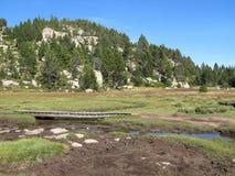 Site des carlit, Frankreich Stockbild
