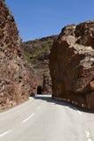 Site des gorges de Daluis, France Photo stock