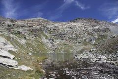 Site des Schutz von Carro, Frankreich Stockfoto