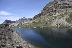 Site des Schutz von Carro, Frankreich Lizenzfreies Stockfoto