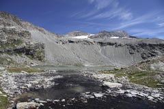 Site des Schutz von Carro, Frankreich Lizenzfreies Stockbild