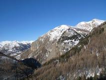 Site des Sees von allos, Frankreich Stockfoto