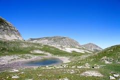 Site des Tellersegmentes und die Seen des Lignins, Frankreich stockbild