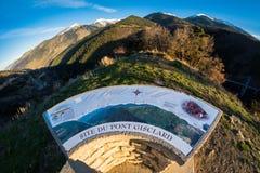 Site du Pont Gisclard - France Stock Images