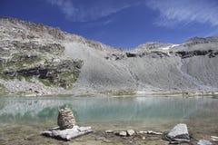 Site du refuge de Carro, France Image stock