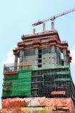 Site en construction de construction Photos stock