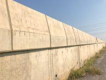 Site en construction de pont extérieur Photographie stock