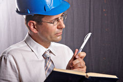 Site engineer Stock Photos