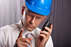 Site engineer Stock Photography