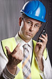 Site engineer Royalty Free Stock Photo