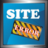 Site error icon Stock Photos