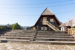 The site of the festival Kustendorf in Drvengrad, Serbia Royalty Free Stock Images