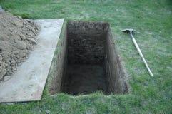 Site grave 2 Image libre de droits