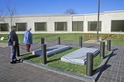 Site grave du Président Harry S Truman, l'indépendance, MOIS image stock
