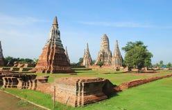 Site historique dans Ayutthaya, Thaïlande Photo stock