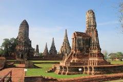 Site historique dans Ayutthaya, Thaïlande Photographie stock libre de droits