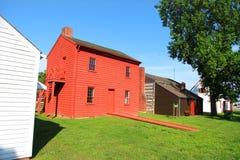 Site historique de manoir de Harrison en Indiana Photos stock