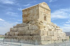 Site historique 01 de Pasargad image stock