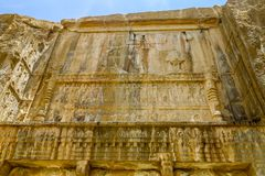 Site historique 27 de Persepolis photos libres de droits