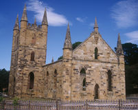 Site historique de Port Arthur Images stock