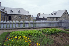 Site historique national canadien de Louisbourg Images libres de droits