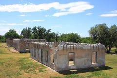 Site historique national de Laramie de fort images stock