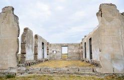 Site historique national de Laramie de fort Photos stock