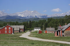 Site historique national de ranch de la barre U photos libres de droits