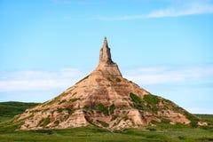 Site historique national de roche de cheminée Photos stock