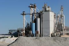 Site industriel Image libre de droits