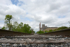 Site industriel photographie stock libre de droits