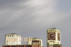 Site industriel Veritas Wittenberge Photographie stock libre de droits