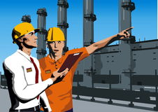 Site Inspection Royalty Free Stock Images