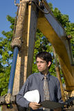 On site inspector Stock Photography