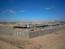 Site irakien du travail Photo stock