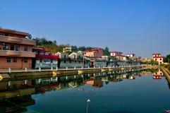 Site Kaiping Diaolou de patrimoine mondial et villages Photographie stock