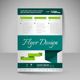 Site layout for design - flyer Royalty Free Stock Photo