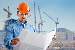 Site manager Royalty Free Stock Images