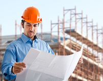 Site manager Royalty Free Stock Photos