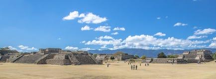 Site Oaxaca Mexique de Monte Alban Archaeological Photographie stock